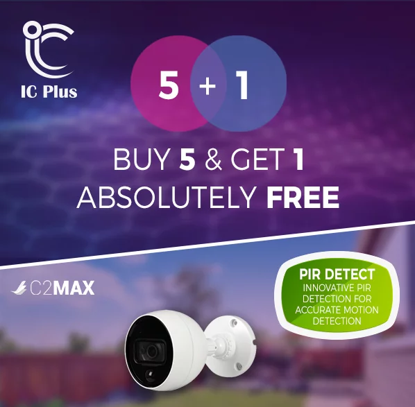 4MP HDCVI Bullet IoT Camera with PIR
